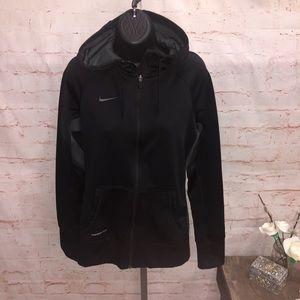 Nike full zip therma fit hoodie women's small